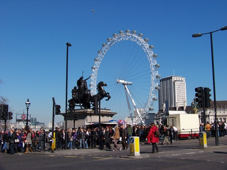 Free stock photo of street, monument, england, london