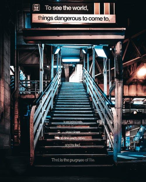 bakış açısı, boş, Chicago, merdivenler içeren Ücretsiz stok fotoğraf