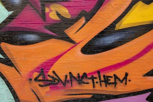 Бесплатное стоковое фото с grafitti, абстрактный, абстрактный фон