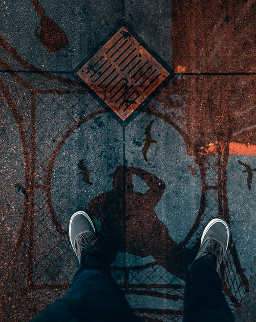 Foto De Vista Superior De Zapatos
