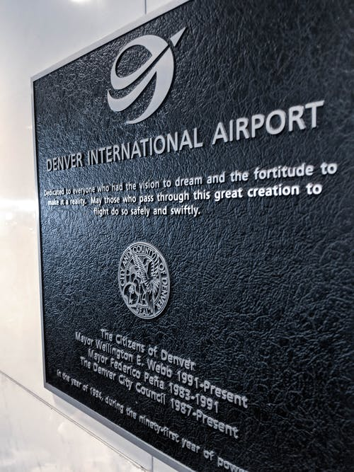 Free stock photo of airport, sign