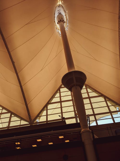Free stock photo of airport, roof