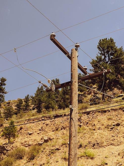 天空, 釀酒, 電塔, 電線桿 的 免費圖庫相片