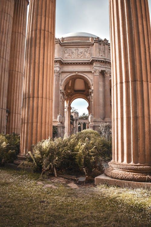 Foto stok gratis istana seni rupa, San Fransisco