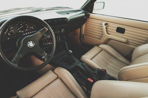 Foto stok gratis bagian dalam, BMW, e30, interior mobil