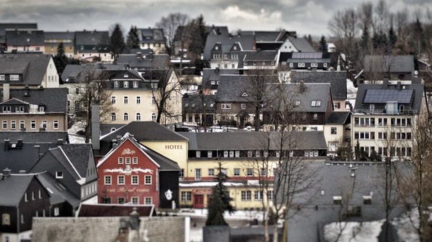 Free stock photo of houses, village, buildings, architecture