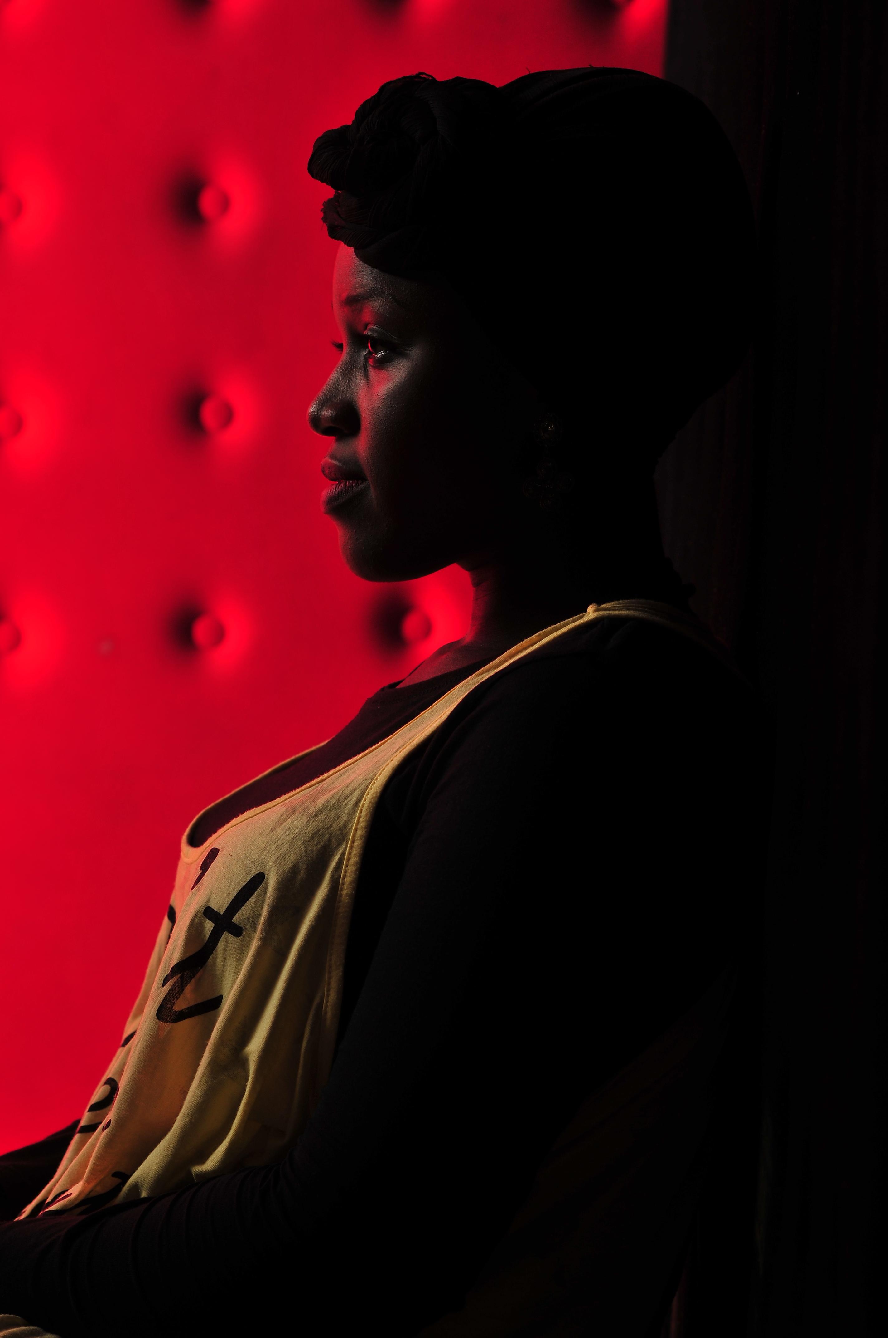 Woman in Yellow Tank Top