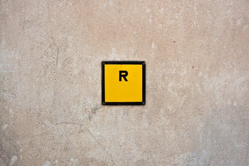 R, 水泥, 灰色混凝土, 牆壁 的 免費圖庫相片