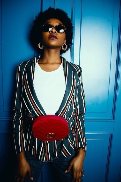 Afrikalı, Afro, ağız, bayan içeren Ücretsiz stok fotoğraf