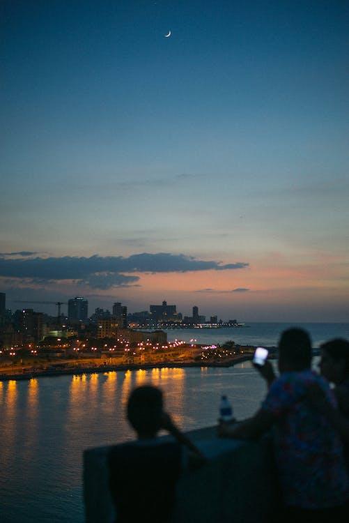 гавана, гарний захід сонця, глибокий океан