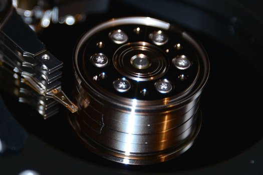 Free stock photo of technology, computer, macro, disk