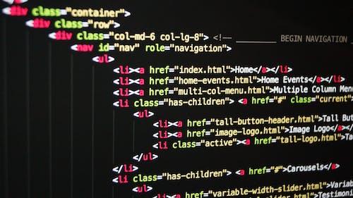 Δωρεάν στοκ φωτογραφιών με css, HTML, java, web