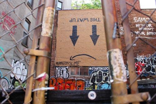 Free stock photo of amazon, graffiti, new york, protest