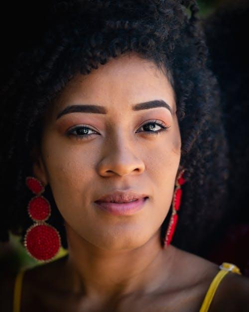 Foto d'estoc gratuïta de #models, cabells negres, colors, dona africana