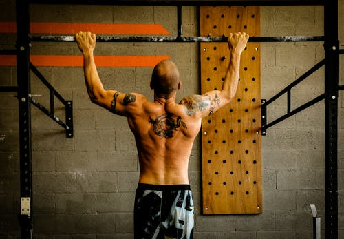 Free stock photo of back exercise, bar, crossfit, crossfit training