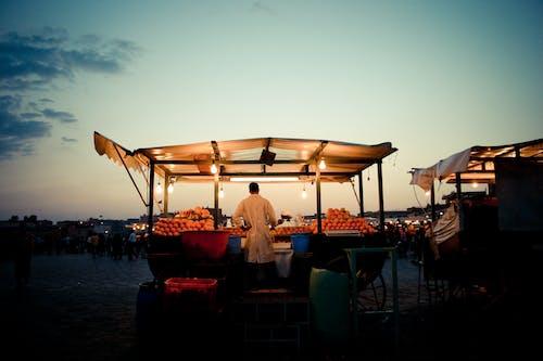 คลังภาพถ่ายฟรี ของ ตลาด, ผู้ขาย, สีส้ม, โมร็อกโก