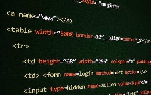 Kostenloses Stock Foto zu bildschirm, codes, kodieren, programmieren