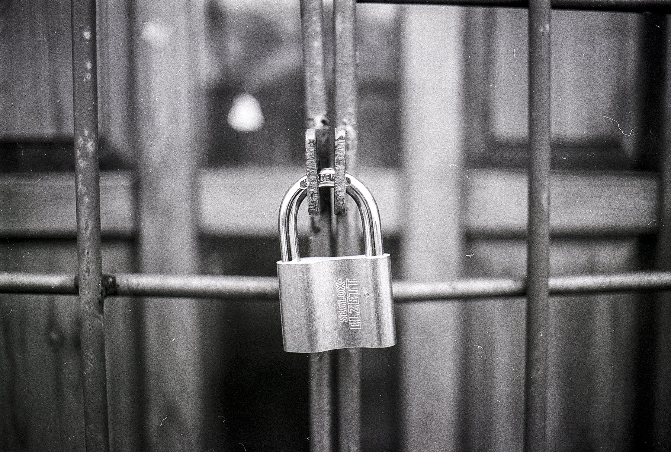 A padlock - International car shipping services need to be both reliable and safe