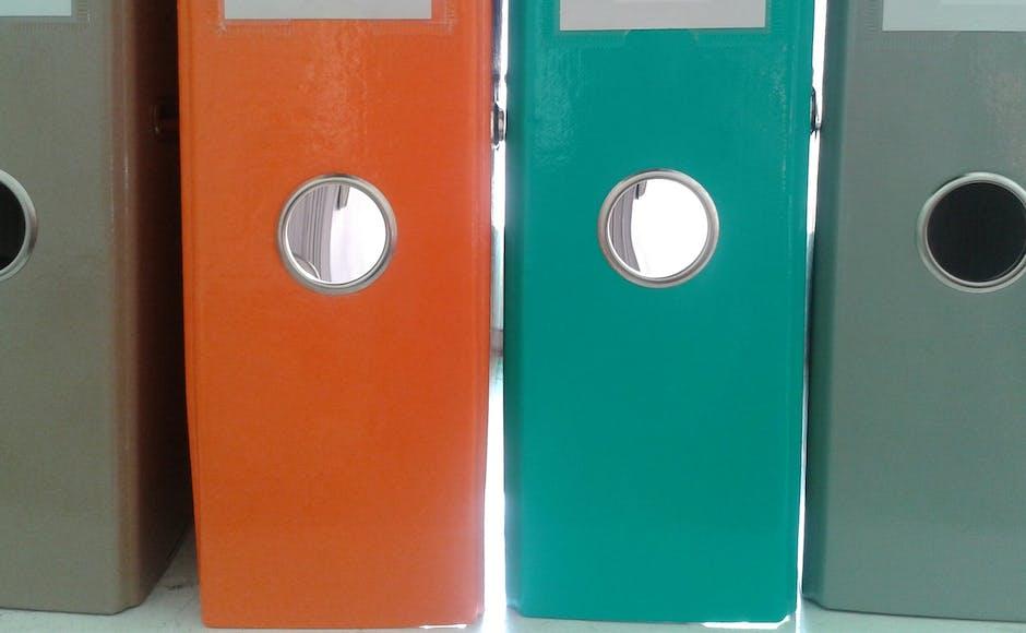 archiving, binder, data