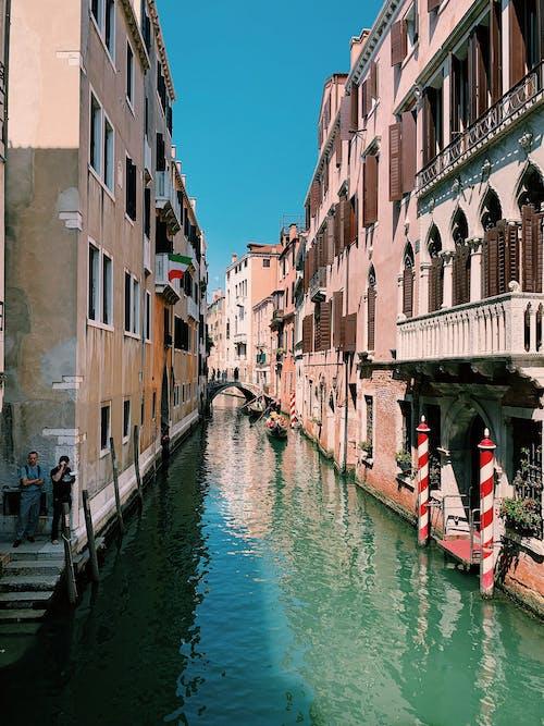 Бесплатное стоковое фото с венеция, канал, цвета
