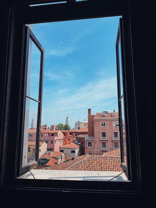 Бесплатное стоковое фото с венеция, вид из окна, город, дворец