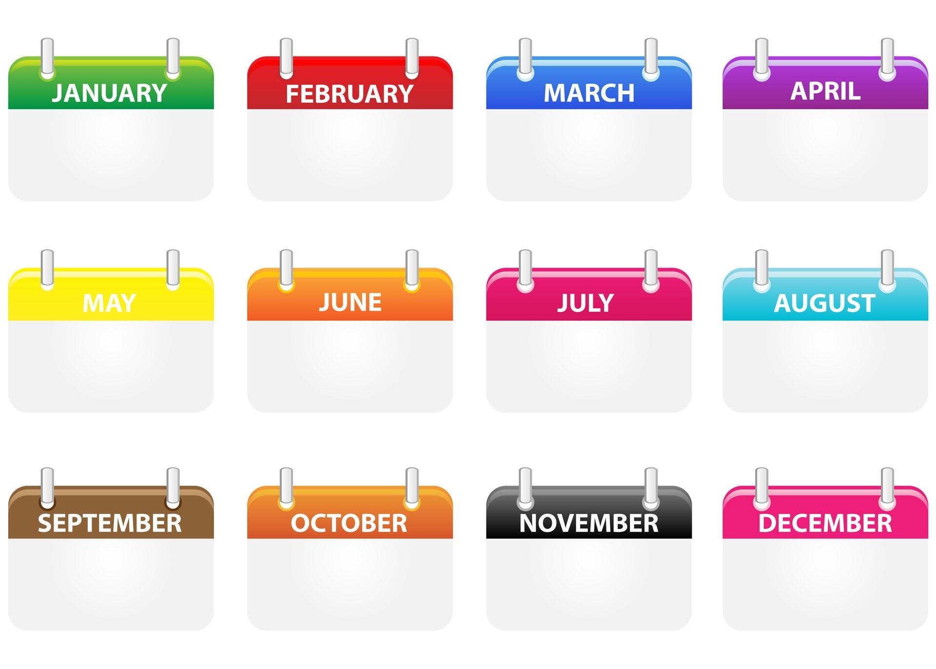Free stock photo of art, business, business icon set, calendar