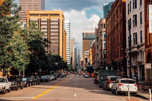 Foto stok gratis kaki langit, kota