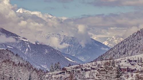 Безкоштовне стокове фото на тему «fiesch, Альпійський, Альпи, Будинки»
