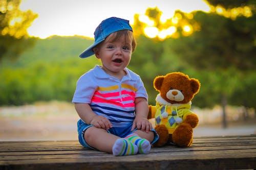 Foto profissional grátis de bebê, criança