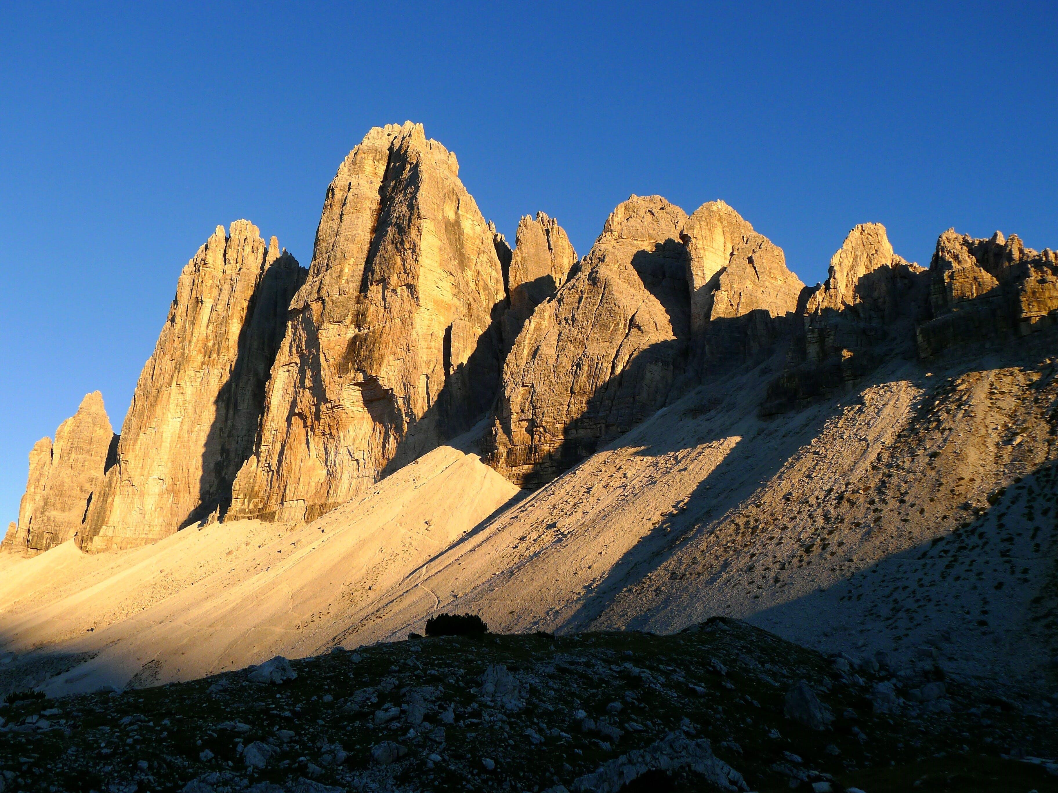 Free stock photo of mountains, nature, dolomites, abendstimmung