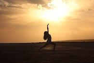sunset, dance, dancer