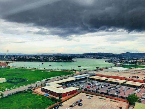 Free stock photo of city park, cityscape, cloud
