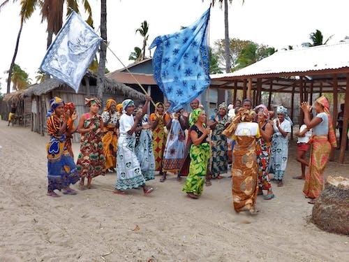 人, 傳統, 舞蹈, 顏色 的 免费素材照片