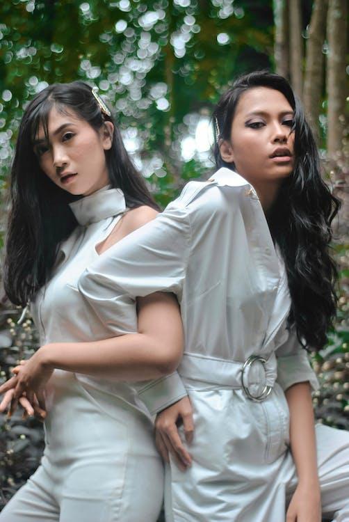aantrekkelijk, aantrekkelijk mooi, Aziatische vrouwen