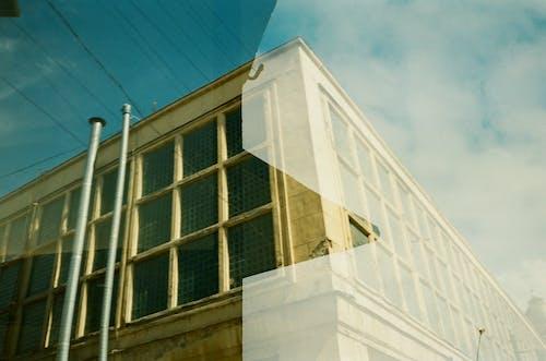 低角度拍攝, 建築外觀, 建造, 玻璃窗 的 免费素材照片