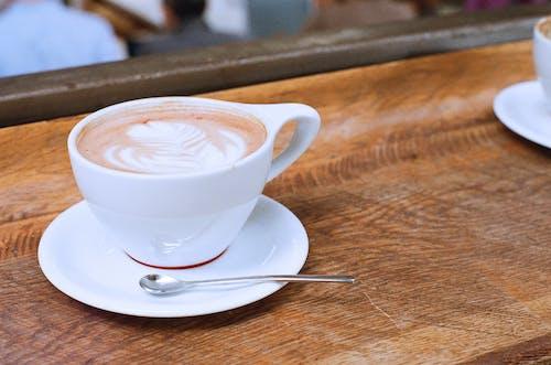 卡布奇諾, 咖啡, 喝, 拿鐵 的 免费素材照片