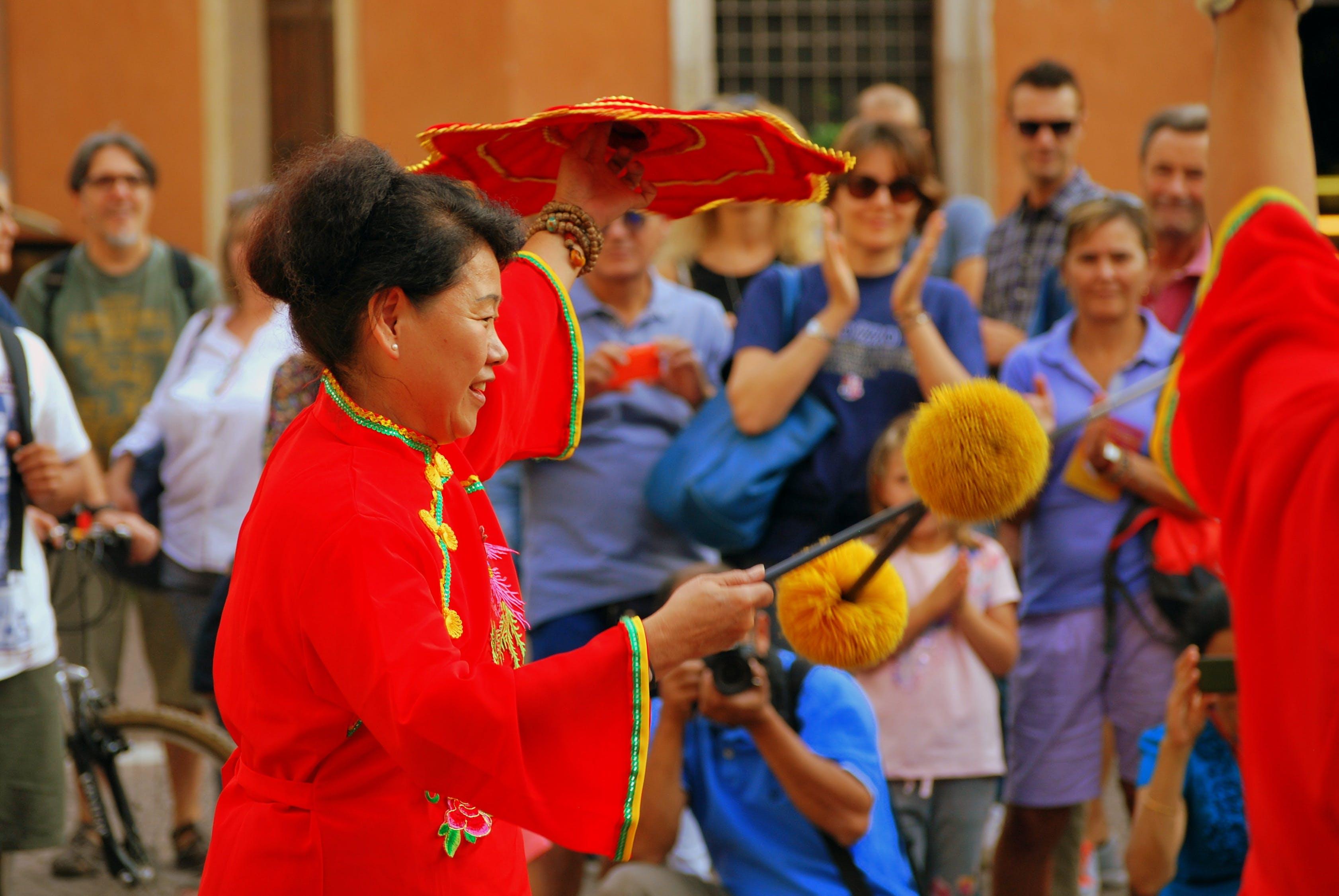 Free stock photo of china, dance, decorated, fun game