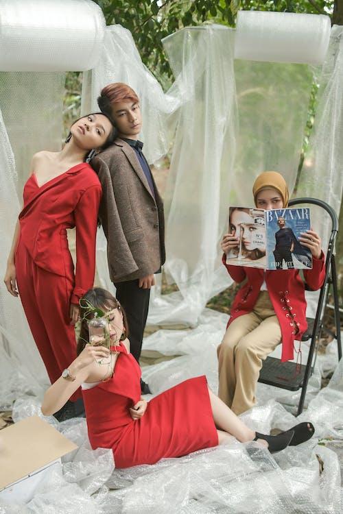 Imagine de stoc gratuită din femei, îmbracă, modă, oameni