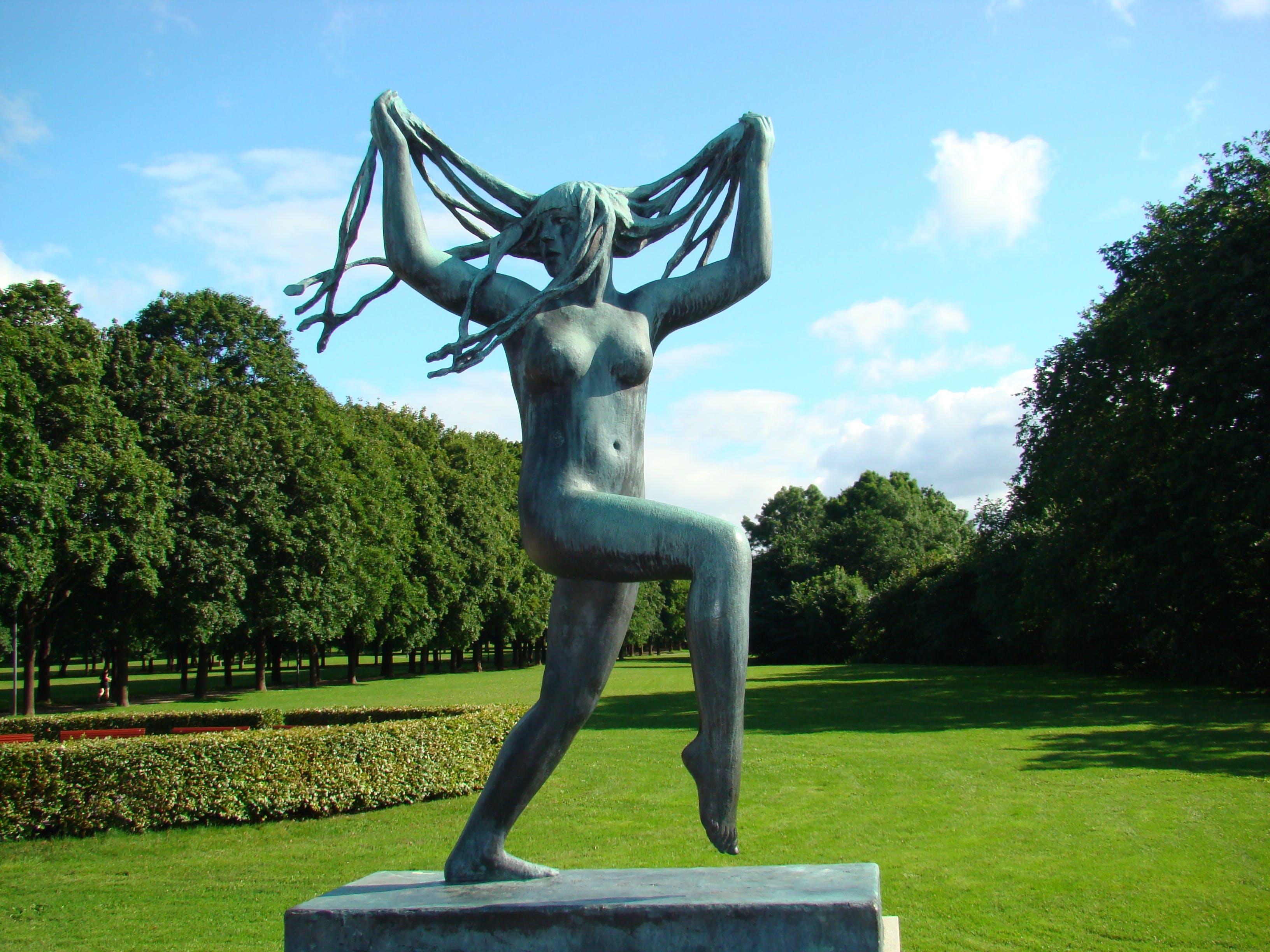 Free stock photo of braiding, dance, oslo, statue
