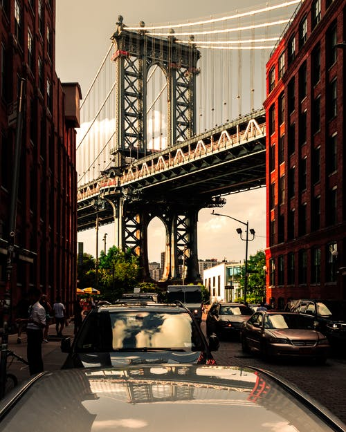 Základová fotografie zdarma na téma brooklyn, brooklynský most, dumbo, goldenhour