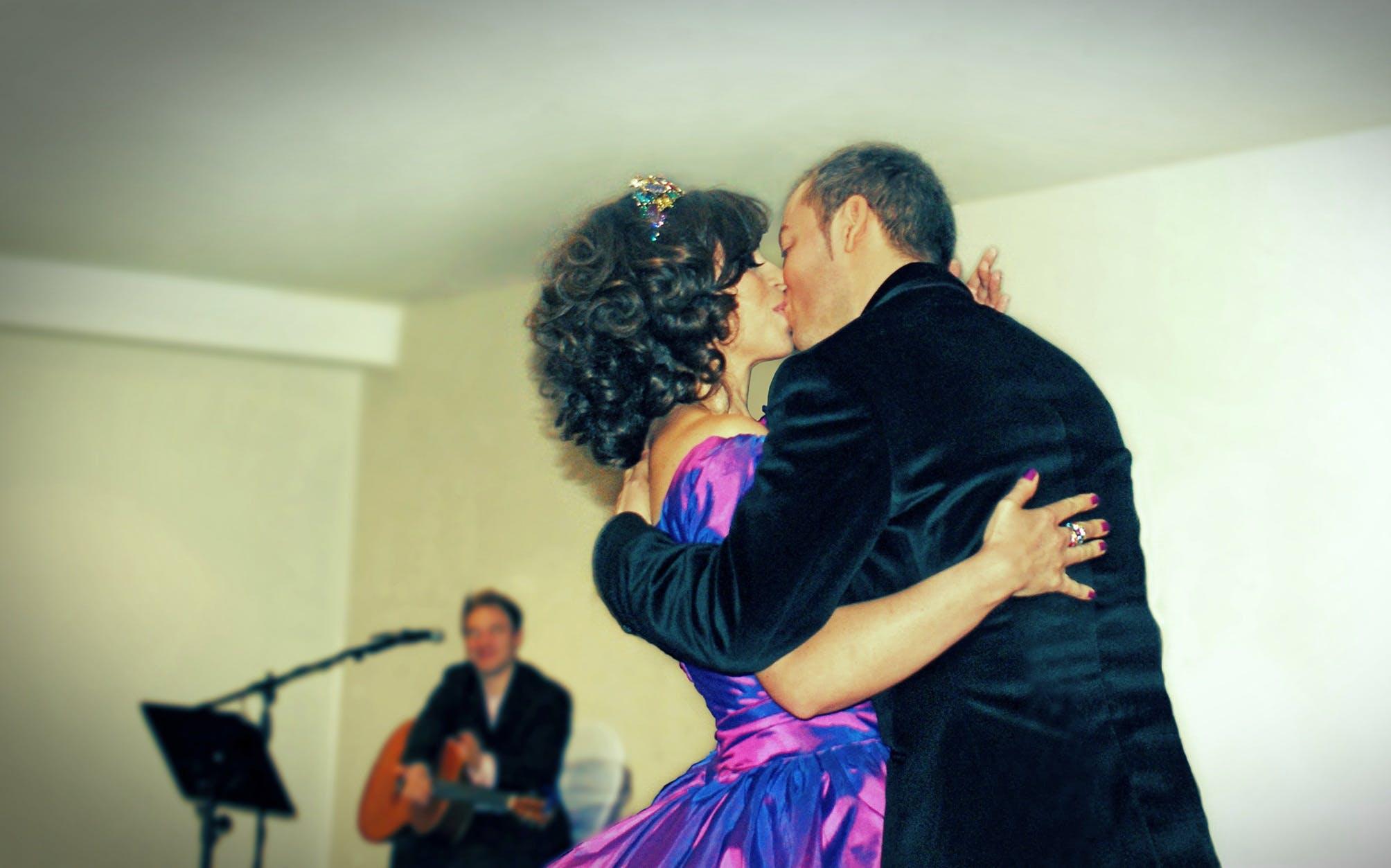 Free stock photo of bridal, bride, busker, celebration