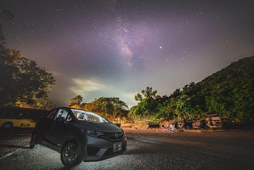 Gratis lagerfoto af bil, mælkevejen