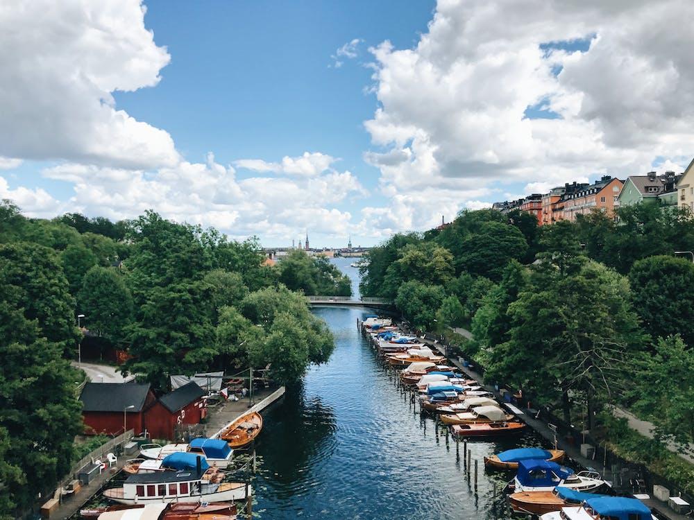 スウェーデン, ストックホルム, ボート