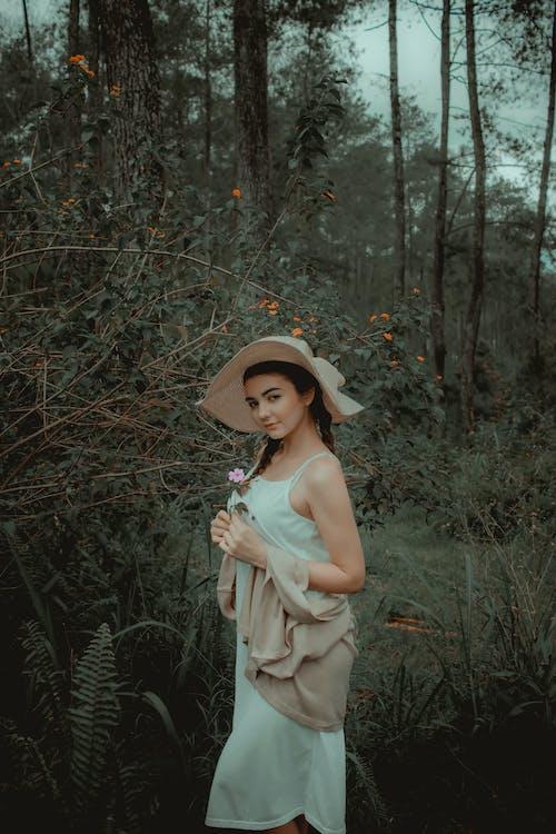 ajkak, arckifejezés, ázsiai lány