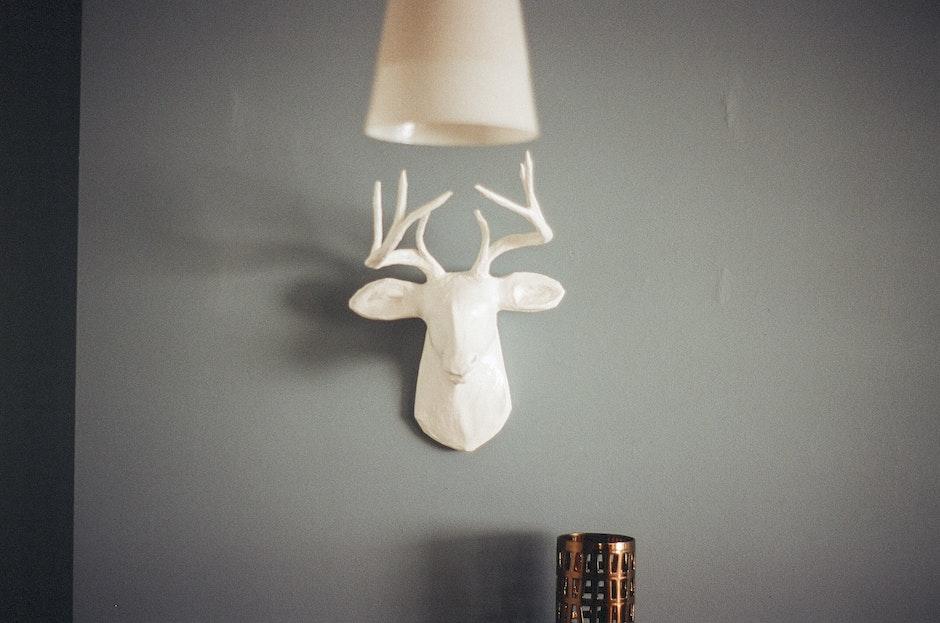 deer, home, interior