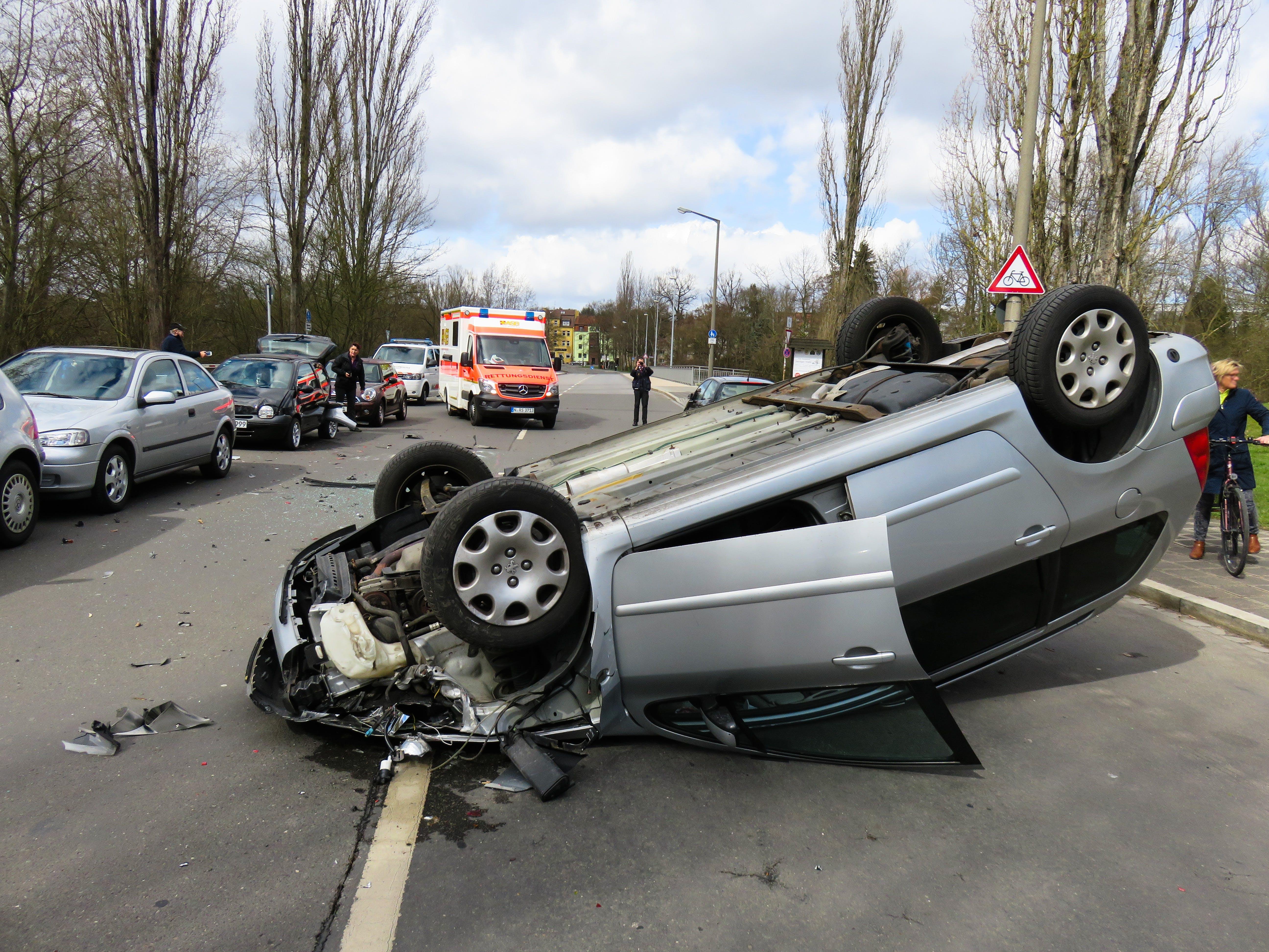 Free stock photo of broken, vehicle, police, emergency