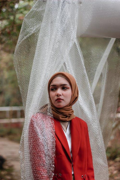 Darmowe zdjęcie z galerii z dziewczyna, hidżab, hijabfashion, hijabmodel