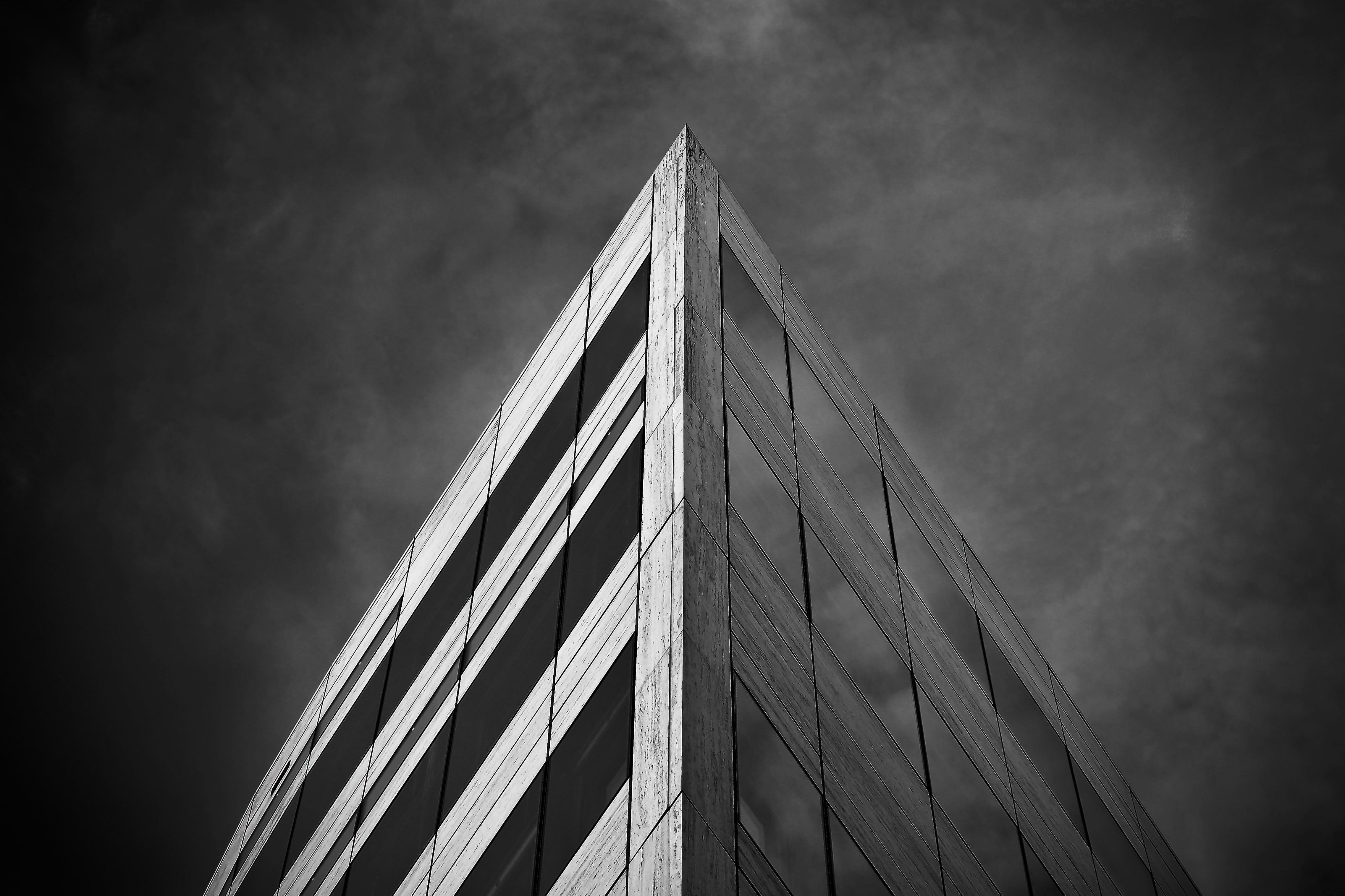 Kostenloses Stock Foto zu architektur, aufnahme von unten, büro, bürogebäude