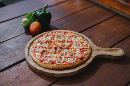 Pizza on Tray