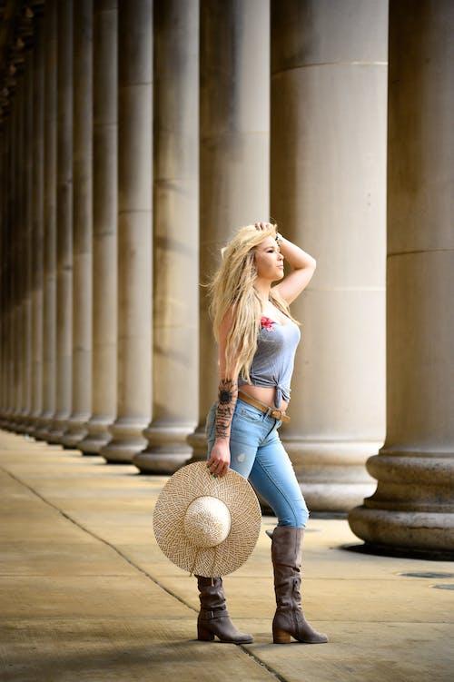 Immagine gratuita di capelli biondi, chicago, femmina, fotografia di ritratto